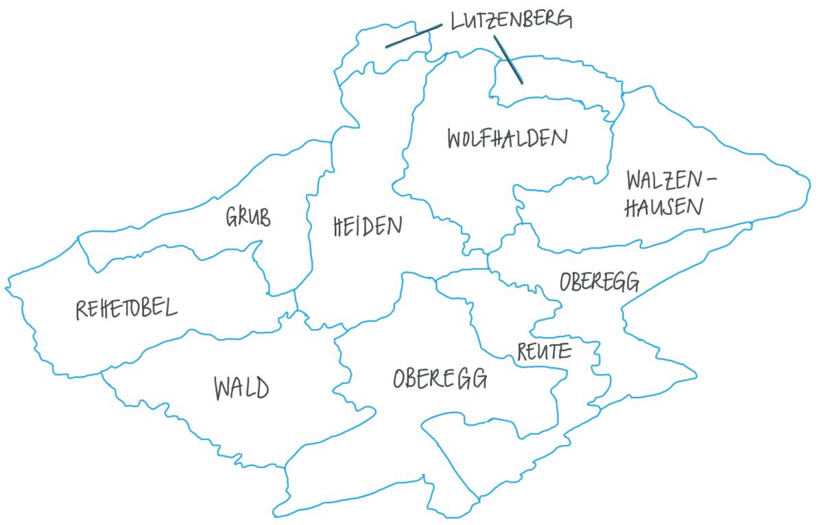 Region AüB Übersicht