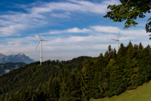 Visualisierung Windprojekt Oberegg