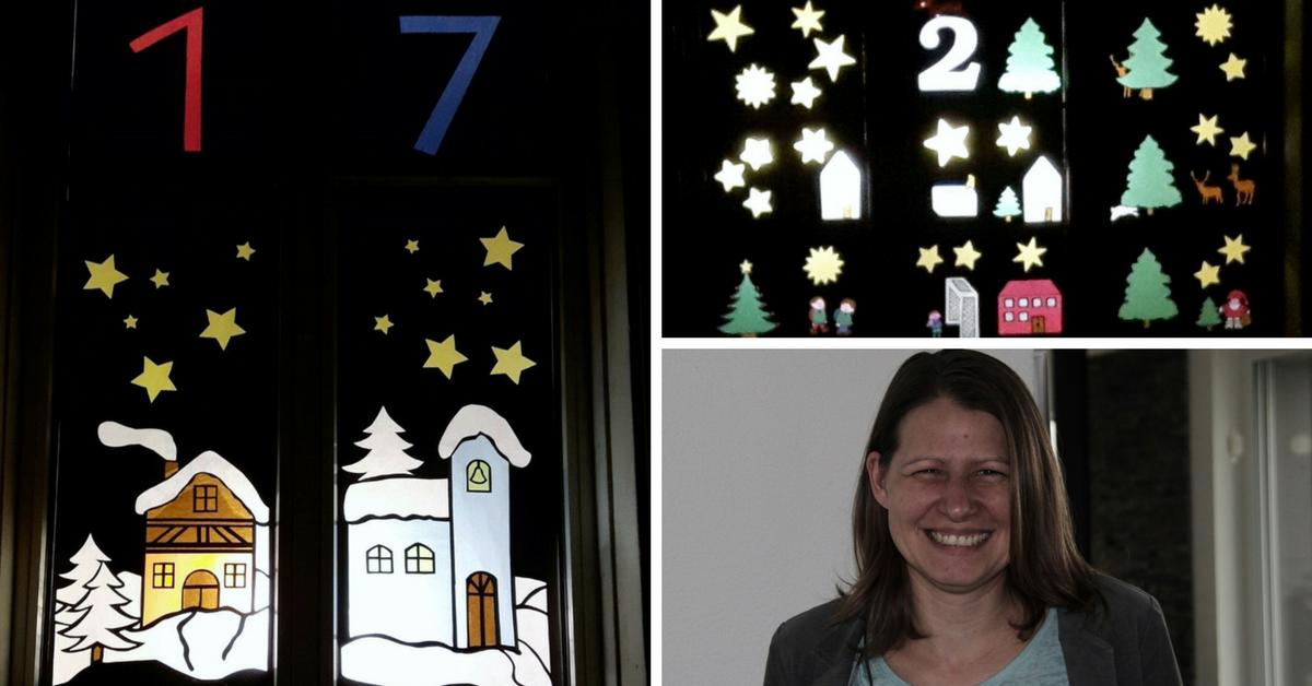 Tanja Thomann, Initiantin der Adventsfenster Lutzenberg