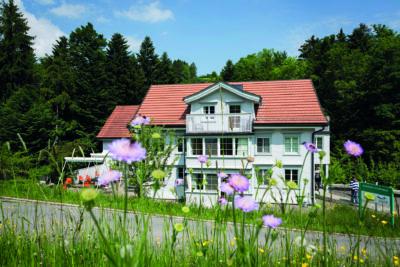 Stiftung Waldheim, Zuweiser Broschuere und Architektur, Aussen Aufnahmen