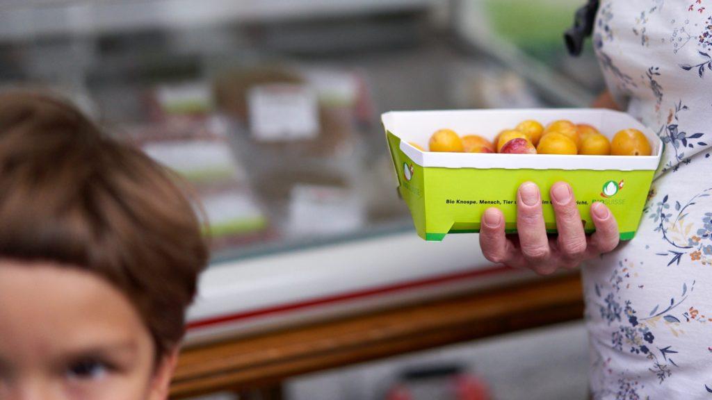 frische Mirabellen vom Biomarkt in Heiden